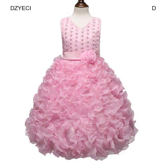f9dd03797 DZYECI Deguisement Baby Girl Flower Dress Halloween Child Costume ...
