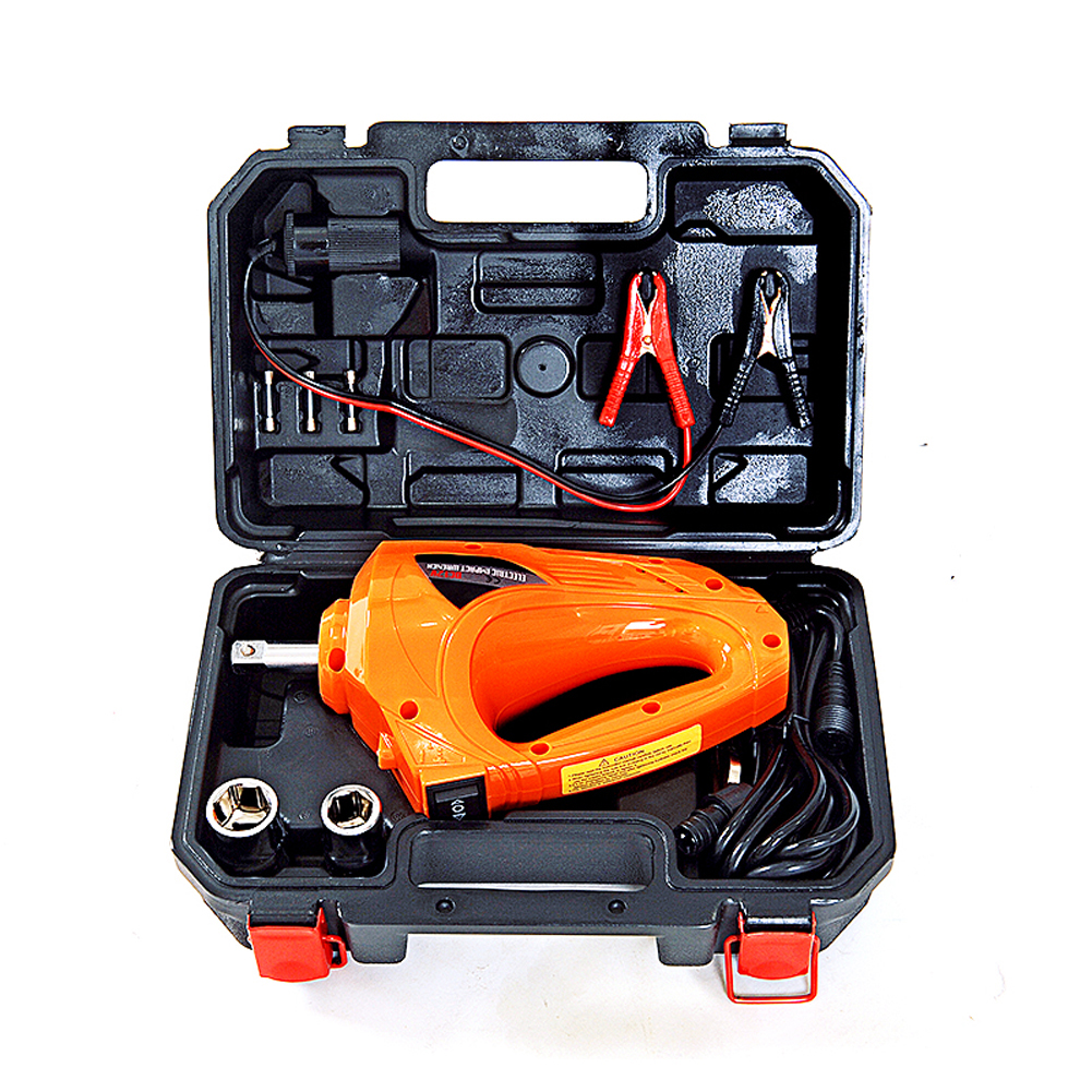 TLXC Auto Torque pneumatic impact Gun 480N.M Electric Wrench Impact Screwdriver 12 Volt Car Repair Tool Wheel Driver Gun Kit