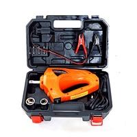 TLXC Auto Torque pneumatic impact Gun 480N.M Electric Wrench Impact Screwdriver 12 Volt Car Repair Tool Wheel Driver Gun Kit