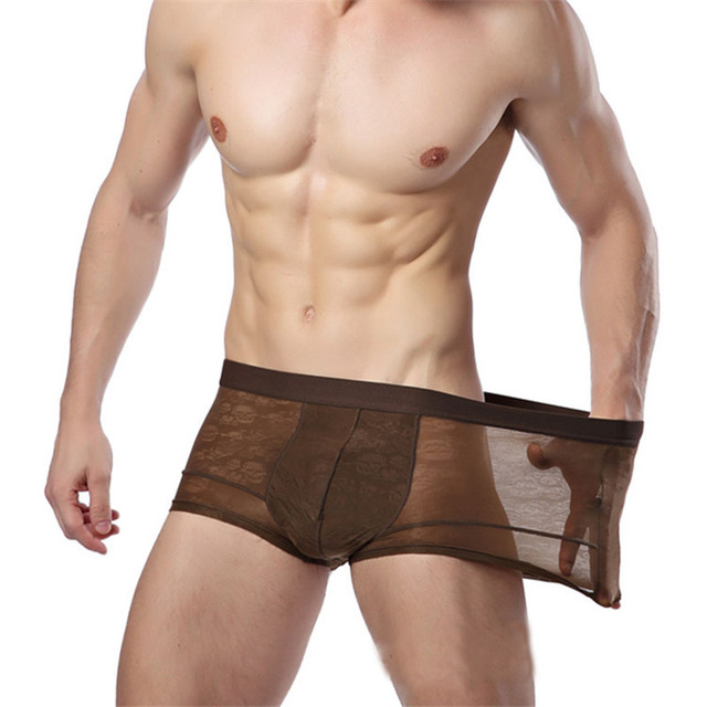 Aliexpress.com : Buy Boxer Men Underwear Sexy Brand Boxer Shorts ...
