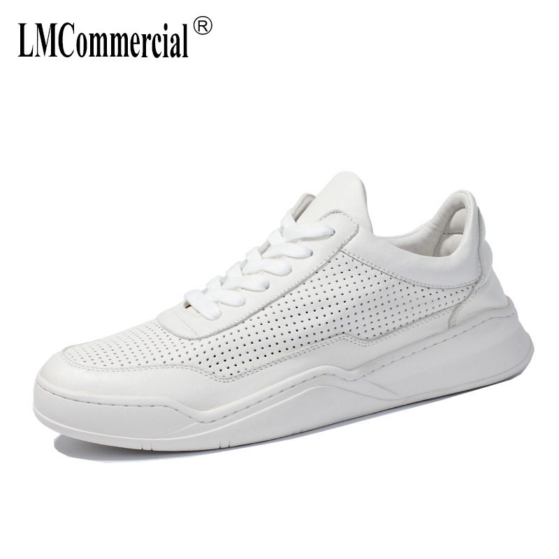 Spring Summer thick sole Cowhide European Station Leisure shoes breathable shoes men cowhide sneaker fashio mens casual shoesSpring Summer thick sole Cowhide European Station Leisure shoes breathable shoes men cowhide sneaker fashio mens casual shoes