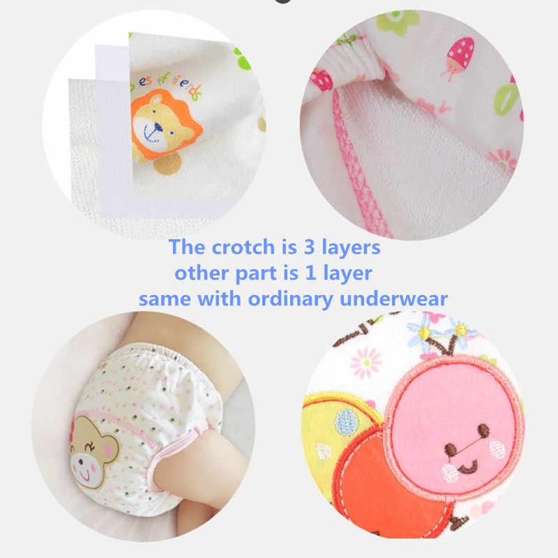 아기 기저귀 재사용 가능한 천 기저귀 방수 신생아 면화 기저귀 빨 수있는 어린이 훈련 바지 속옷