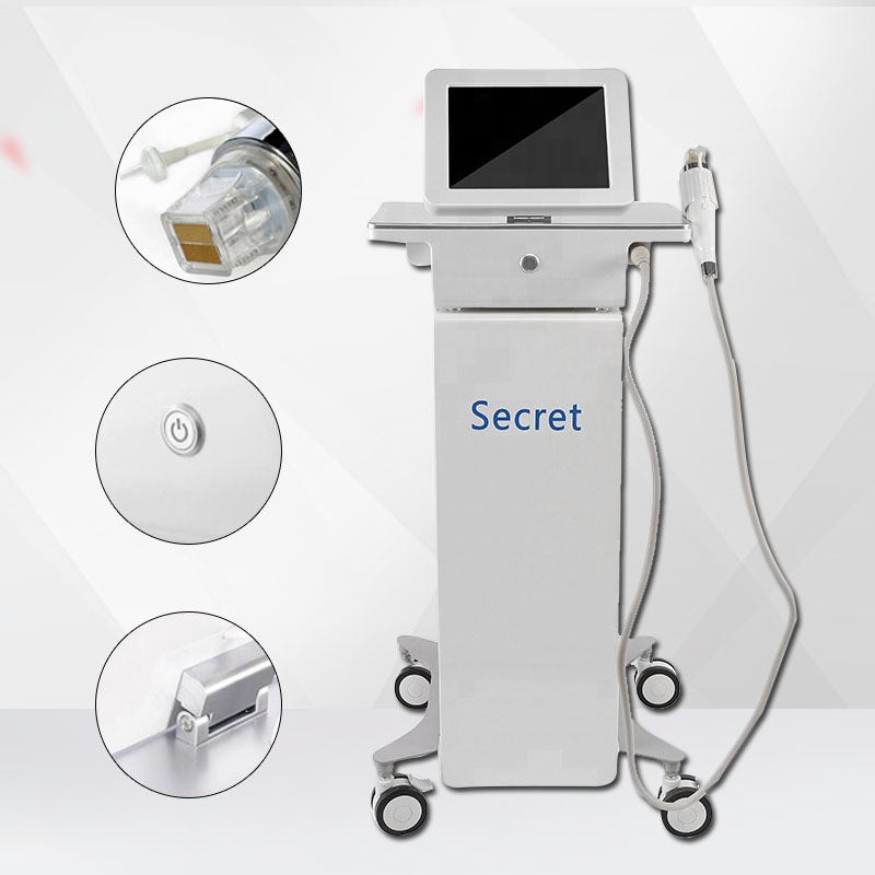 Professional 64pins 10pins 25pins Nano Micro Needle Fractional RF Facial Care Body Slimming Stretch Marks Removal Machine