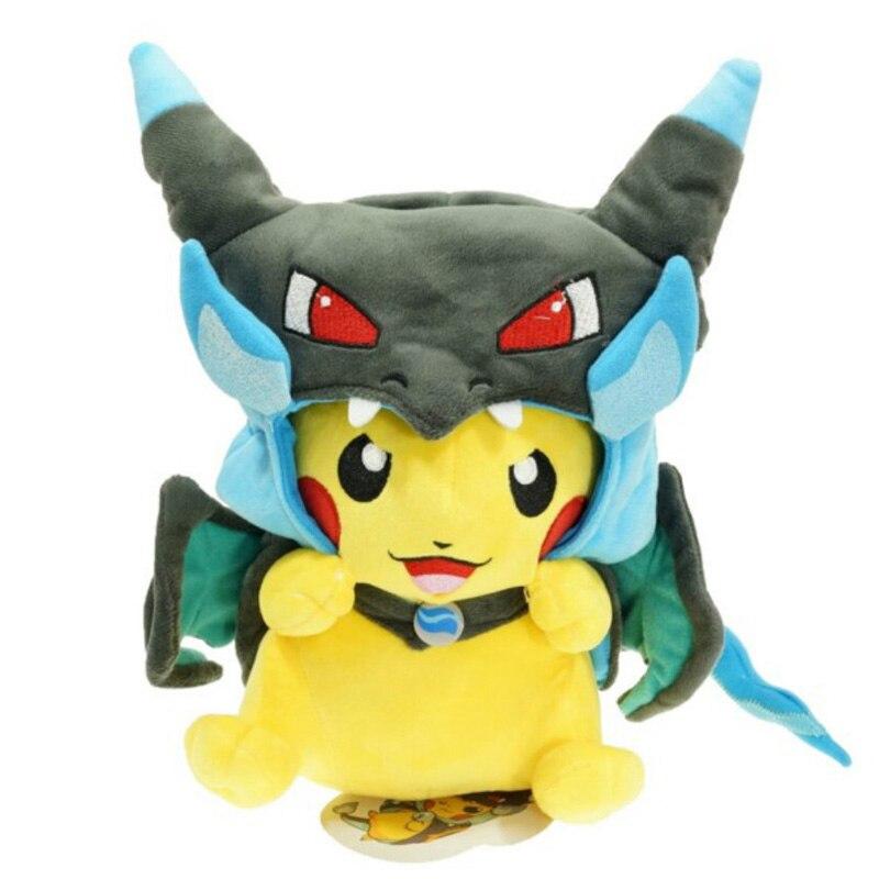 Pikachu Cosplay Plush Toy 4