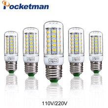 1Pcs E27 E14 LED Corn Bulb 220V 110V SMD5730 LED lamp Spotli