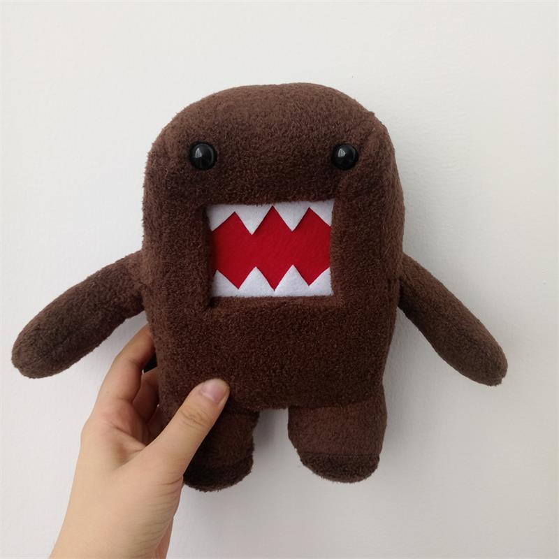 20cm Funny Domo Kun Toy Creative Staffed Doll Plush Toy for Baby Boy Girl Kids