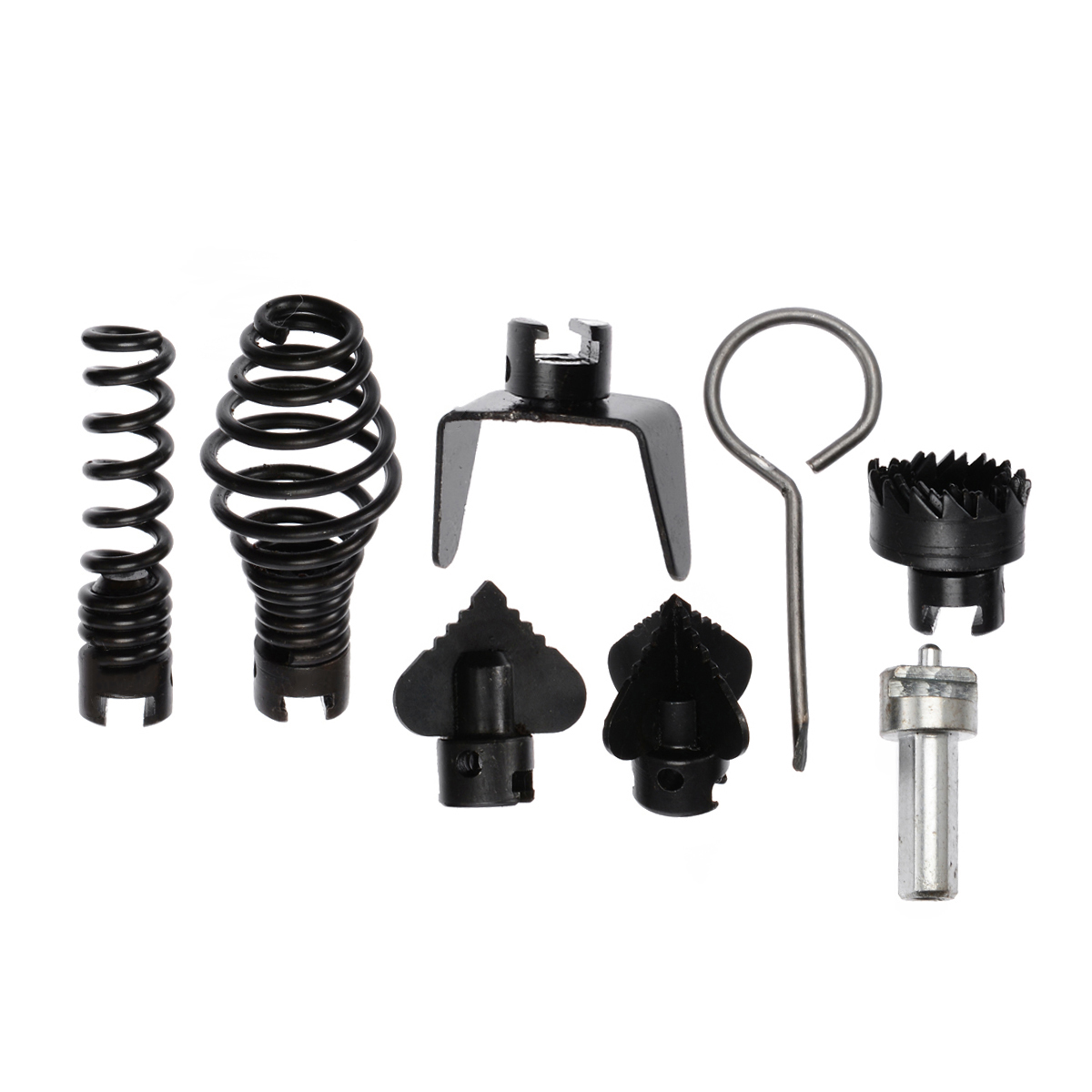 7Pcs 16mm Drain Cleaner Cutter Set Manganese Steel Drain Cleaner Machine Combination Cutter Head For Tool Parts High Quality
