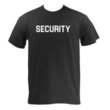 2017 Summer Fashion Security, Bouncer Men Short Sleeve T-shirt