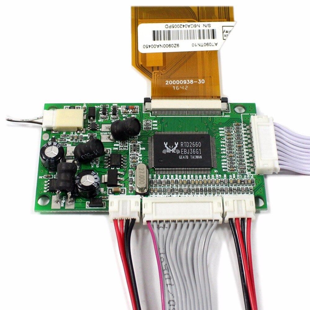 Разрешение 800x480 9 tft ЖК экран с пультом дистанционного управления, печатная плата - 4
