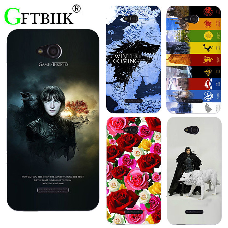 For Game Of Thrones 7 Case For HTC Desire 616 Dual Sim D616W Cover Hard Plastic Printed Phone Back Shell Football Case