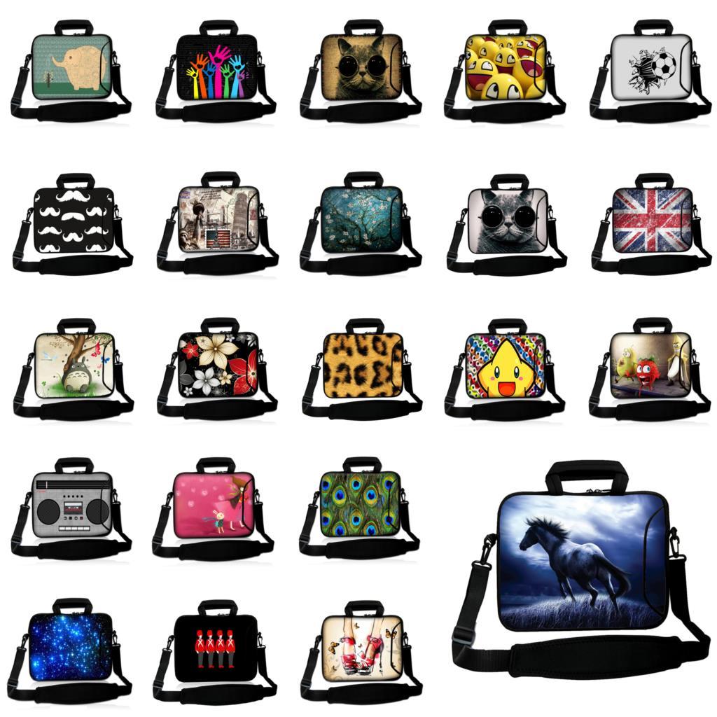 """10 """"12"""" Notebook Schultertasche 13,3 14 15,6 15 17 Schützen Aktentasche Laptops Umhängetasche Für Xiaomi Hp Chuwi Lapbook Air 14,1"""