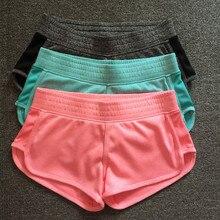 Women Classic Silver Running Yoga Shorts
