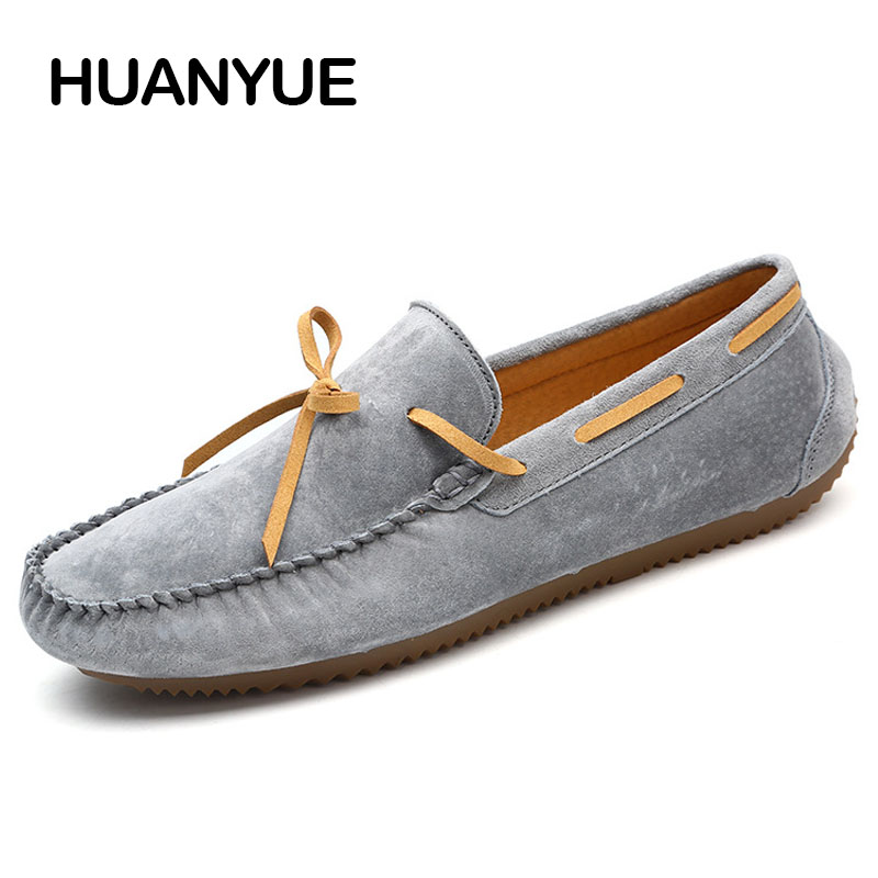 Spring Summer Men Casual Shoes 2018 Fashion Men Shoes Leather Men Loafers Soft Moccasins Slip On Driving Shoes Flat Male Shoes men shoes casual 2016 fashion handmade men shoes leather men loafers moccasins slip on men s flats male shoes