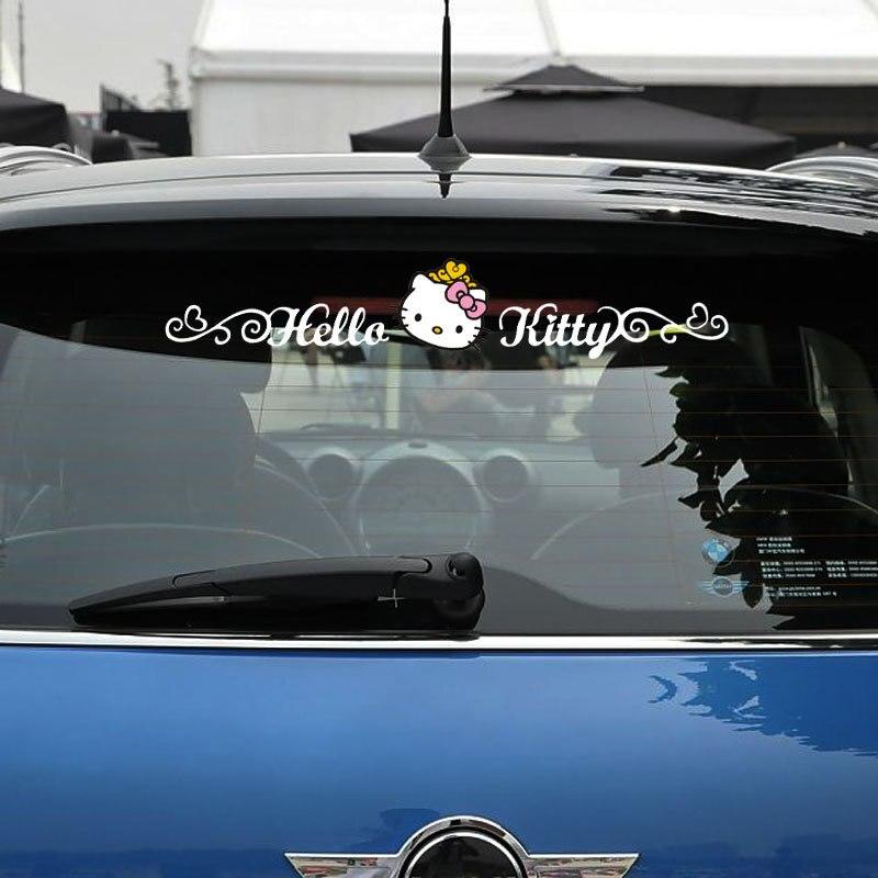 Hello Kitty Funny Car Accessories Side Door Sticker