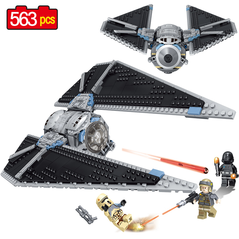Star Series Wars Blocks Sets Compatible legoing TIE Fighter Robot Walker Battleship 75179 Building Blocks Toys for Children new 1685pcs lepin 05036 1685pcs star series tie building fighter educational blocks bricks toys compatible with 75095 wars