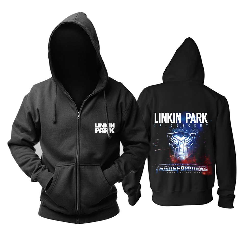 Bloodhoof Free Shipping Linkin Park Meteora Rock Graphic Cotton Hoodie Asian Size
