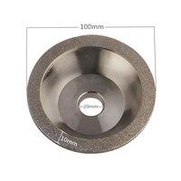 Diamond Grinding Wheels 60 80 100 120 150 180 240 400 Grain Cutting Disc 100mm Bowl