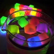 Воде, ночника кубики мигает льда украшение изменение привело световой партии игрушка
