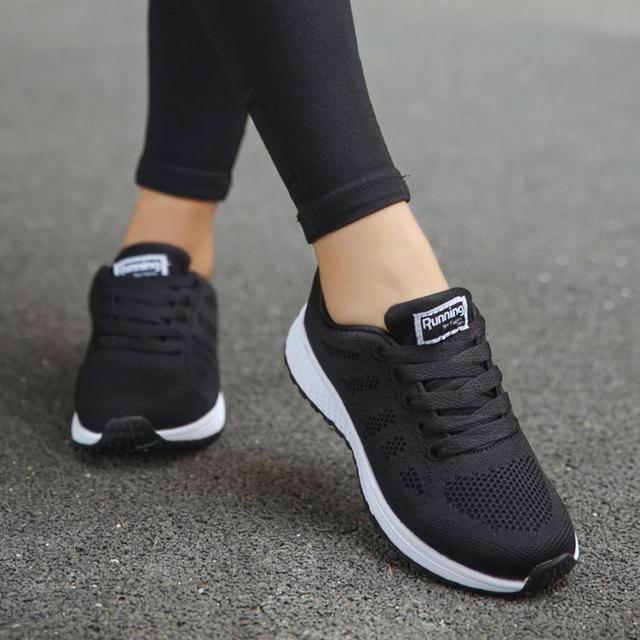 720bbcc3 € 10.89 42% de DESCUENTO|¡Oferta! zapatos deportivos para mujer, zapatos  para correr, almohadillas de aire, zapatillas de verano para mujer, ...