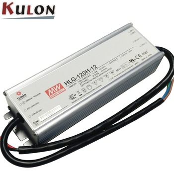 Original MEAN WELL HLG-120H-C700A adjustable LED Power Supply waterproof 150W 107-215V 700mA 7 years Warranty