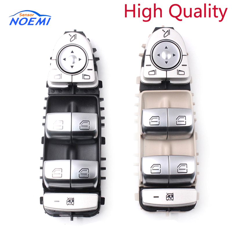 YAOPEI 2 colors Black or Beige High Quality Power Window Switch A2229056800 2229056800 For Mercedes Benz