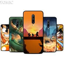 Dragon Ball Z Anime Goku Silicone Case for Oneplus 7 7Pro 5T 6 6T Black Soft Case for Oneplus 7 7 Pro TPU Phone Cover