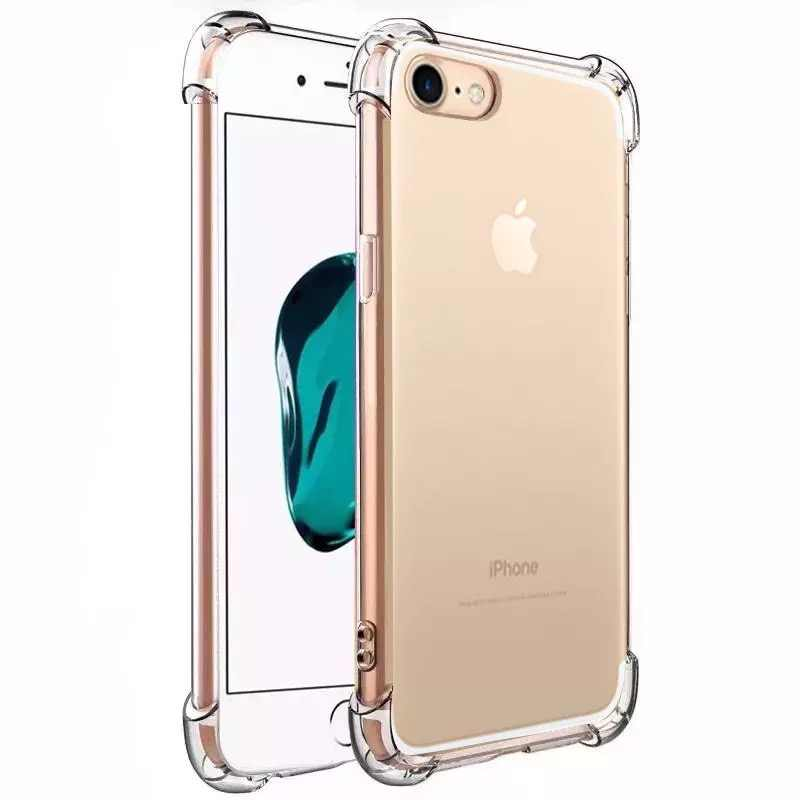 Shockproof Bening untuk iPhone 11 iPhone XR Soft Cover Case untuk iPhone 7 8 6 6 S plus 5 5 S SE 11 Pro X XS Max Case