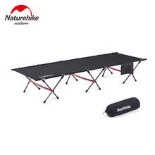 цена на Naturehike Folding Camping Cot Fishing Single Bed Office Lunch Break Bed Portable Accompanying Bed for Indoor Outdoor Backpack