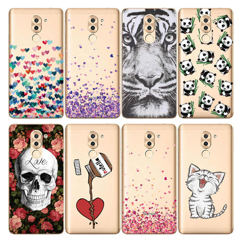 soft silicone case for Huawei Honor 6X Case 5.5'' soft tpu Back Cover Cases For Huawei Honor 6X Coque etui bags bumper