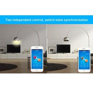 Image 5 - Itead Sonoff Dual 2ch 15A 3500 واط واي فاي الذكية التبديل ضوء الموقت عن بعد لاسلكي 2 عصابة التحكم يعمل مع الأمازون اليكسا جوجل المنزل