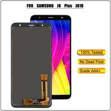 LCD For Samsung Galaxy J6 Plus J610 J610F J610FN Touch Screen Display Digitizer for J6+ Replacement