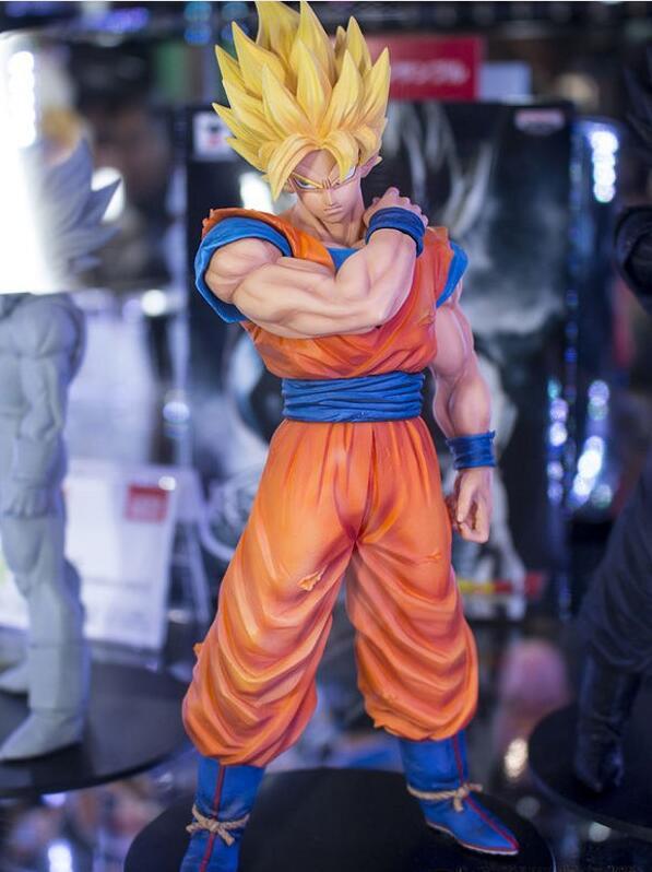 22 cm Dragon Ball Z Goku Action Figure PVC Collection Modello brinquedos giocattoli per il regalo di natale con la scatola al minuto