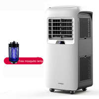 Cold and Warm Movorable Air Conditioner Integrated Machine Free Installation Portable Refrigeration Conditioning Fan AC 26