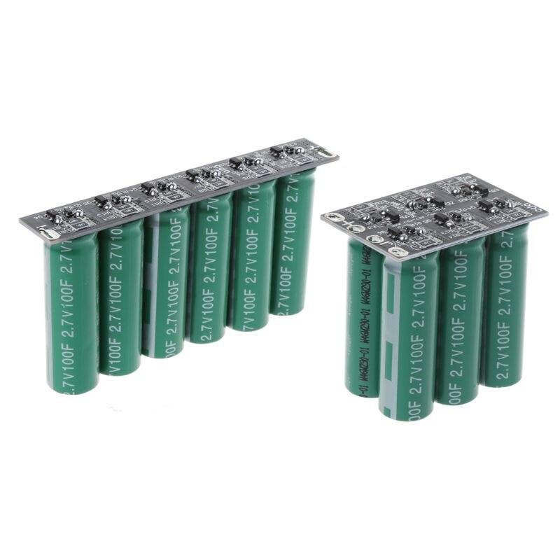 16 V 20F Ultracapacitor de la batería del motor de coche de refuerzo Super condensador