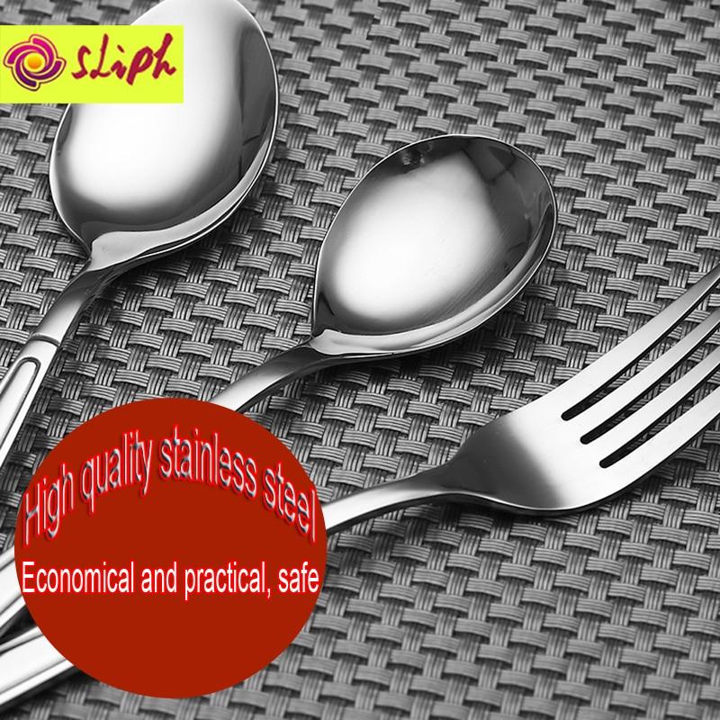 Magas minőségű rozsdamentes acél étkészlet Steak kés Desszert - Konyha, étkező és bár - Fénykép 3