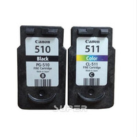 Cheap Compatible cartridges PG 510 CL 511 for Canon Pixma IP2700 MP240 MP250 MP260 MP280 MP495 MP490 MP480 MX320 MX330 MX340