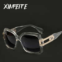 XINFEITE Men Safety Goggles Sun Glasses Male Female Vintage Clear Frame Shadow Women Sunglasses Brand Unisex