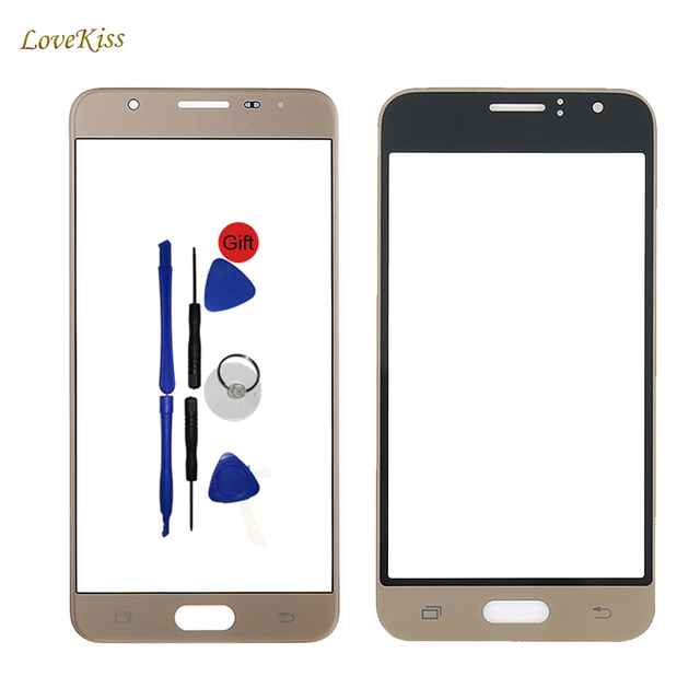 10Pcs/lot Touch Screen For Samsung Galaxy S3 J1 2016 J5 Prime J120F SM-G570F I9300 Front Glass Panel Replacement Free Adhesive