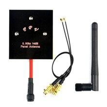 5.8G Antena Painel 14dBi Gama Maior Modificação Kit para H501S H502S Hubsan FPV Zangão Piloto F21718