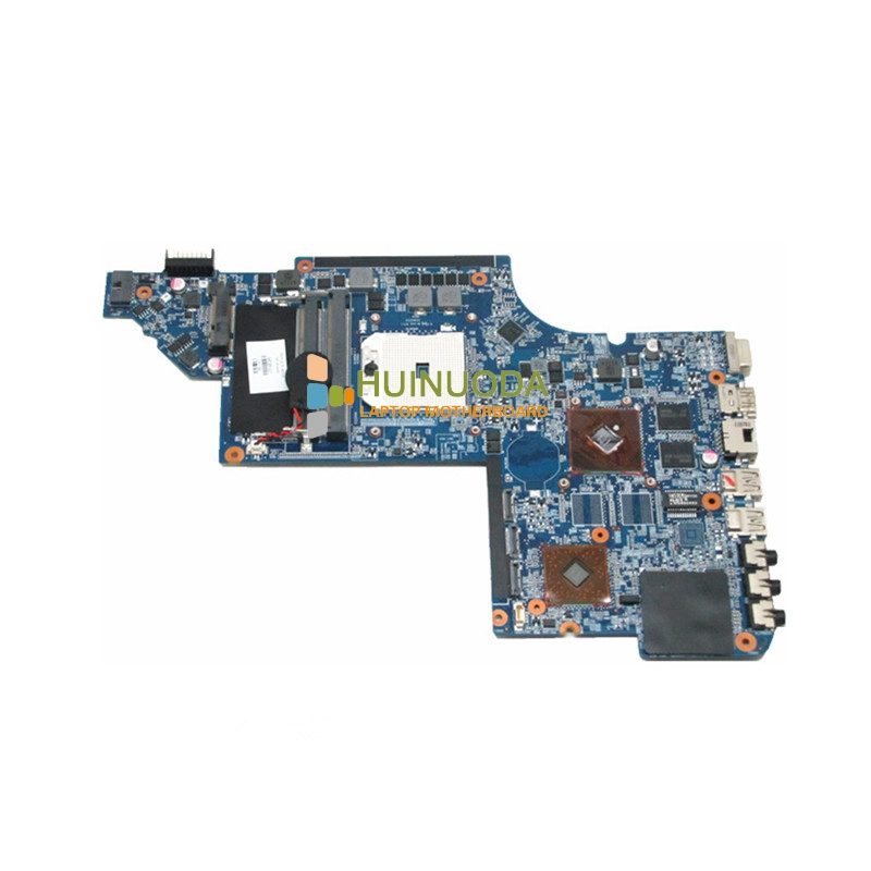 NOKOTION 645385-001 Main Board For Hp Pavilion DV7-6000 Laptop Motherboard Socket fs1 DDR3 ATI HD6490 762526 501 main board for hp pavilion 15 p day22amb6e0 laptop motherboard ddr3 am8 cpu
