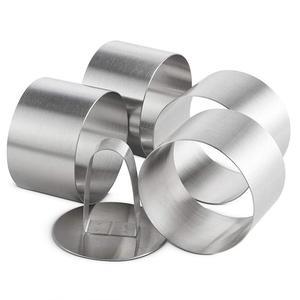 Image 3 - Форма металлическая в виде кольца для салата и выпечки