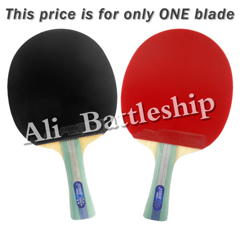Original DHS 5002 Long Shakehand FL Table Tennis Ping Pong Racket + a Paddle Bag boer table tennis 1 star ping pong racket paddle