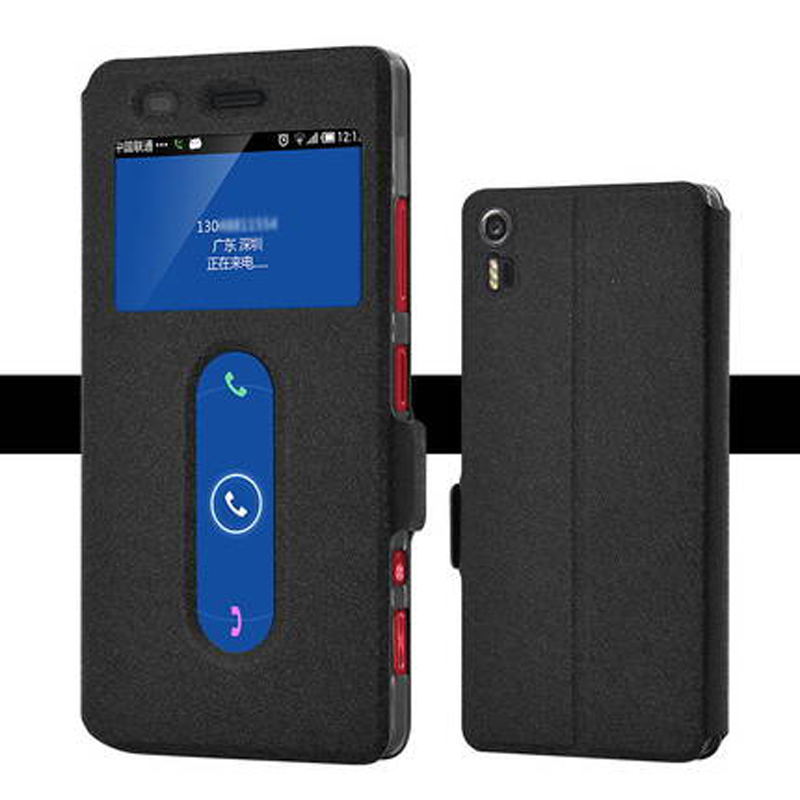 Holster Back-Cover Window-Phone-Battery Lenovo for Vibe/Shot/Z90/..