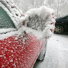 2Pcs Black Iceฤดูหนาวกันน้ำคุณภาพสูงAutoรถด้านหลังกระจกFrost Guardหิมะ
