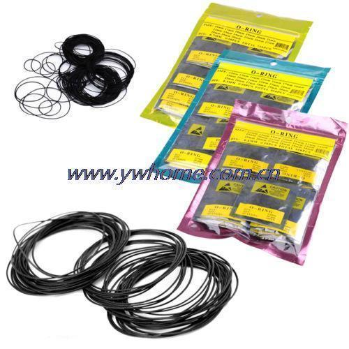 950PCS Dia 0.7mm Nitrile Rubber O-ring Oil Seal Gaskets Watch Parts For Watch Repair Tool Kit