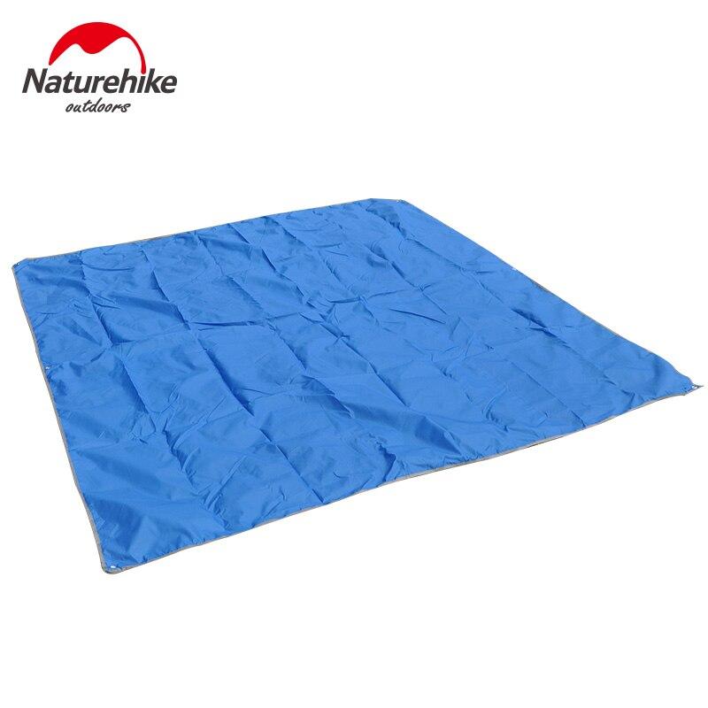 NatureHike Camping Tapis 215*215 cm Tapis de Sol 3-4 Personne Extérieure Pique-Nique Plage Tente Auvent grande taille étanche randonnée tapis