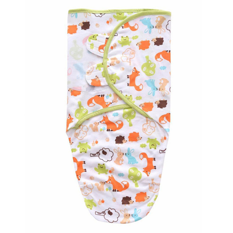 Sobre del bebé Swaddle manta recién nacido algodón bebé capullo saco ...
