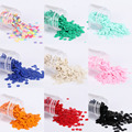 2000Pcs/Pack 4mm Solid Colors Sequin Flat Round PVC Loose Sequins Paillettes Sewing Craft,Women Cloth Embroidery Accessories