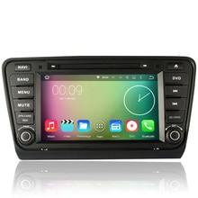 8 «HD Сенсорный Экран 1024*600 Android 5.1.1 Dvd-плеер Автомобиля GPS Навигации система Для VW Skoda Octavia III 2014 2015 A7 Can Bus RDS