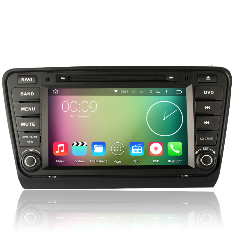 8 HD Touch Screen 1024 600 font b Android b font 5 1 1 Car DVD